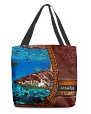 Grandma shark All-Over Tote All-over Tote front