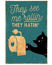 THEY SEE ME ROLLIN THEY HATIN 11x17 Poster front