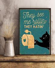 THEY SEE ME ROLLIN THEY HATIN 11x17 Poster lifestyle-poster-3