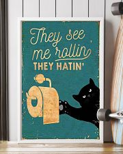 THEY SEE ME ROLLIN THEY HATIN 11x17 Poster lifestyle-poster-4
