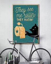 THEY SEE ME ROLLIN THEY HATIN 11x17 Poster lifestyle-poster-7
