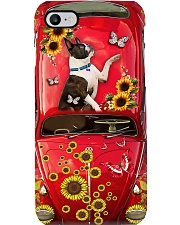 Phone Case - Boston Terrier Sunflower Phone Case i-phone-7-case
