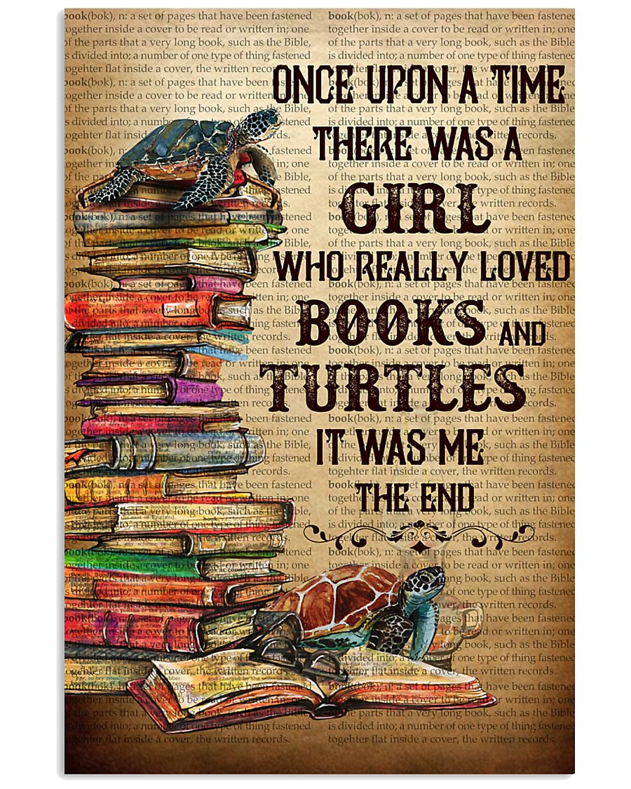 BOOKS TURTLES 11x17 Poster