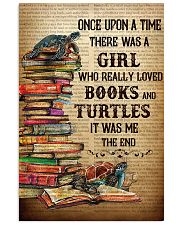 BOOKS TURTLES 11x17 Poster front