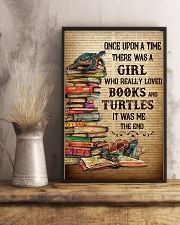 BOOKS TURTLES 11x17 Poster lifestyle-poster-3