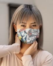 Hippie Girl Cloth face mask aos-face-mask-lifestyle-18