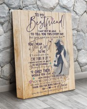 Canvas Best friend 11x14 Gallery Wrapped Canvas Prints aos-canvas-pgw-11x14-lifestyle-front-13