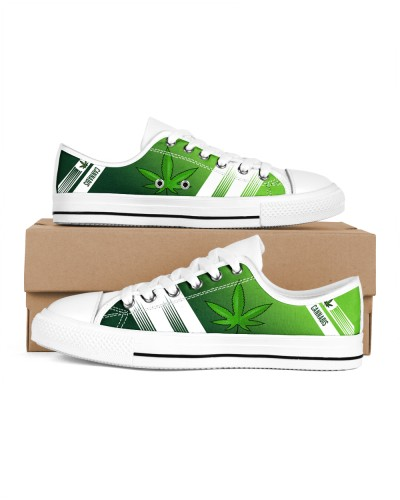 CANNABIS WEED LOW TOP SHOES