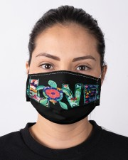Turtle Mask love Cloth face mask aos-face-mask-lifestyle-01
