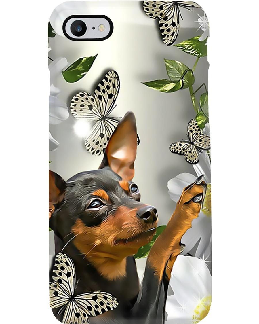 Dog Phone Case - miniature pinscher Phone Case
