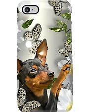 Dog Phone Case - miniature pinscher Phone Case i-phone-7-case