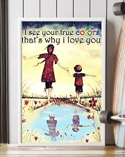 I see your true colors 11x17 Poster lifestyle-poster-4