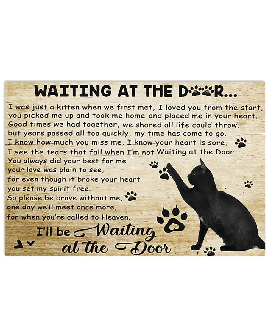 Waiting at the door 17x11 Poster