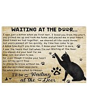 Waiting at the door 17x11 Poster front