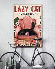 Lazy cat living room 11x17 Poster lifestyle-poster-7
