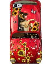 Phone Case - German Shepherd Sunflower Phone Case i-phone-7-case