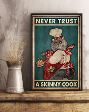 never trust a skinny cook 11x17 Poster lifestyle-poster-3