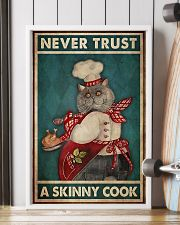 never trust a skinny cook 11x17 Poster lifestyle-poster-4