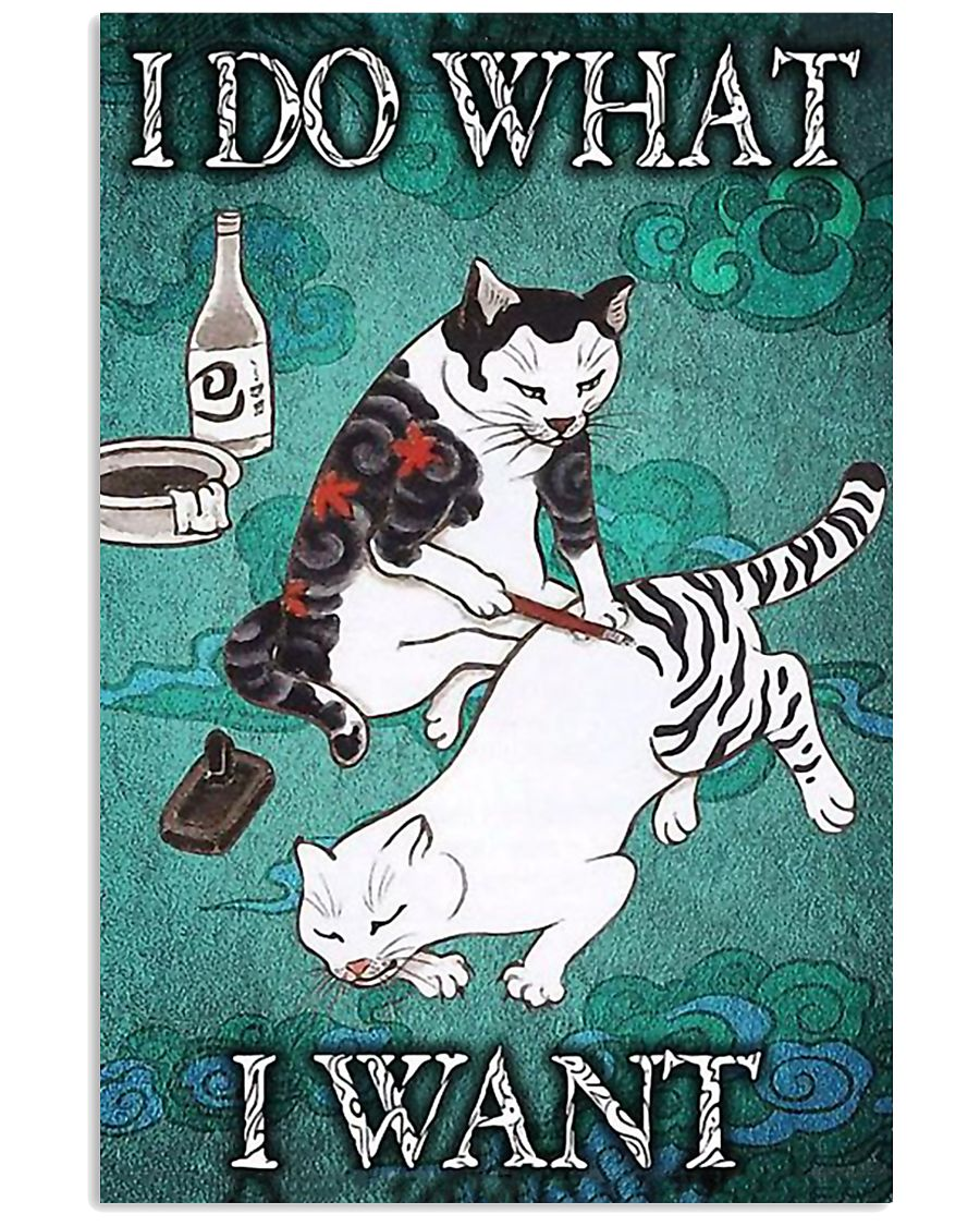 I DO WHAT I WANT 11x17 Poster