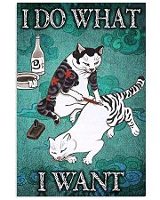 I DO WHAT I WANT 11x17 Poster front