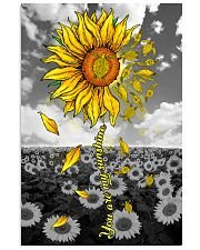 TURTLE SUNFLOWER 11x17 Poster front