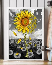 TURTLE SUNFLOWER 11x17 Poster lifestyle-poster-4