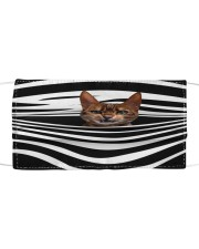 Cats 1399 Orders ship within 3 to 5 business days Cloth face mask front