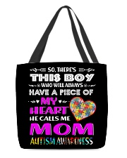 Autism All-Over Tote All-over Tote front