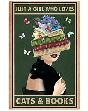 who loves cas and books 11x17 Poster front
