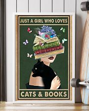 who loves cas and books 11x17 Poster lifestyle-poster-4