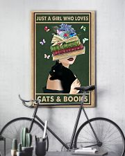 who loves cas and books 11x17 Poster lifestyle-poster-7