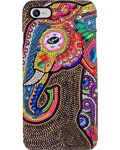 Phone Case - Elephant Beaded