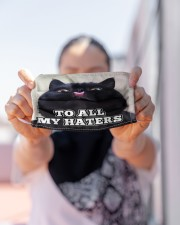 To all my haters Orders ship within 3 to 5 busines Cloth face mask aos-face-mask-lifestyle-07