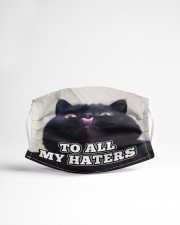 To all my haters Orders ship within 3 to 5 busines Cloth face mask aos-face-mask-lifestyle-22
