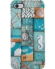 Turtle sea Phone Case  creamic Phone Case i-phone-8-case