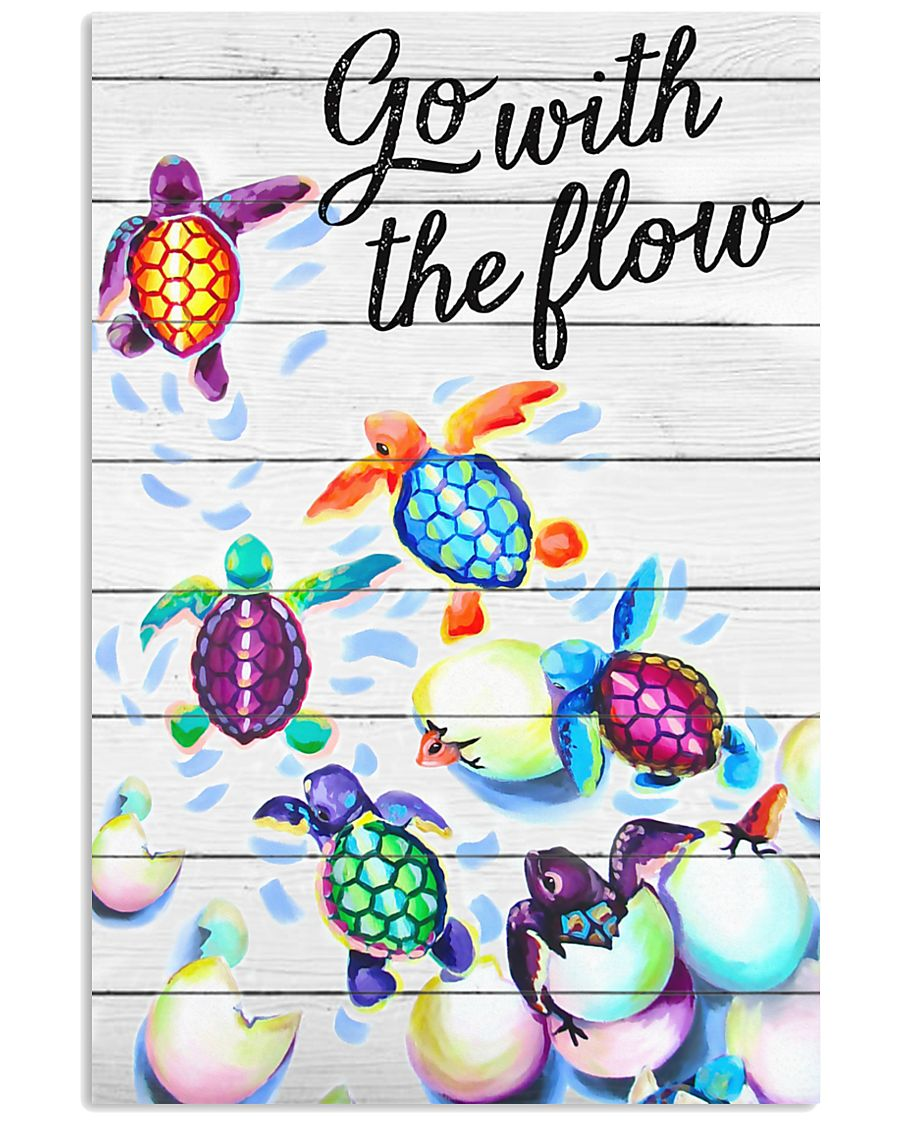 Go with the flow 11x17 Poster