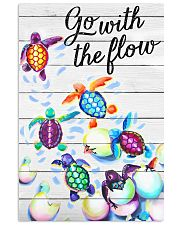 Go with the flow 11x17 Poster front