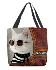 Cat All-Over Tote 2 All-over Tote front