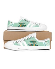 CAMPING  LOW TOP SHOES Women's Low Top White Shoes inside-right-outside-right