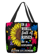 Autism All-Over Tote 2 All-over Tote back