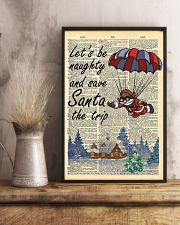 Let is be naughty an save santa the trip 11x17 Poster lifestyle-poster-3