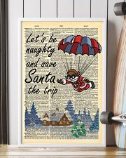 Let is be naughty an save santa the trip 11x17 Poster lifestyle-poster-4