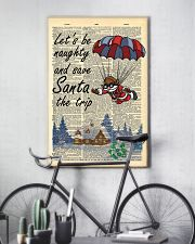 Let is be naughty an save santa the trip 11x17 Poster lifestyle-poster-7