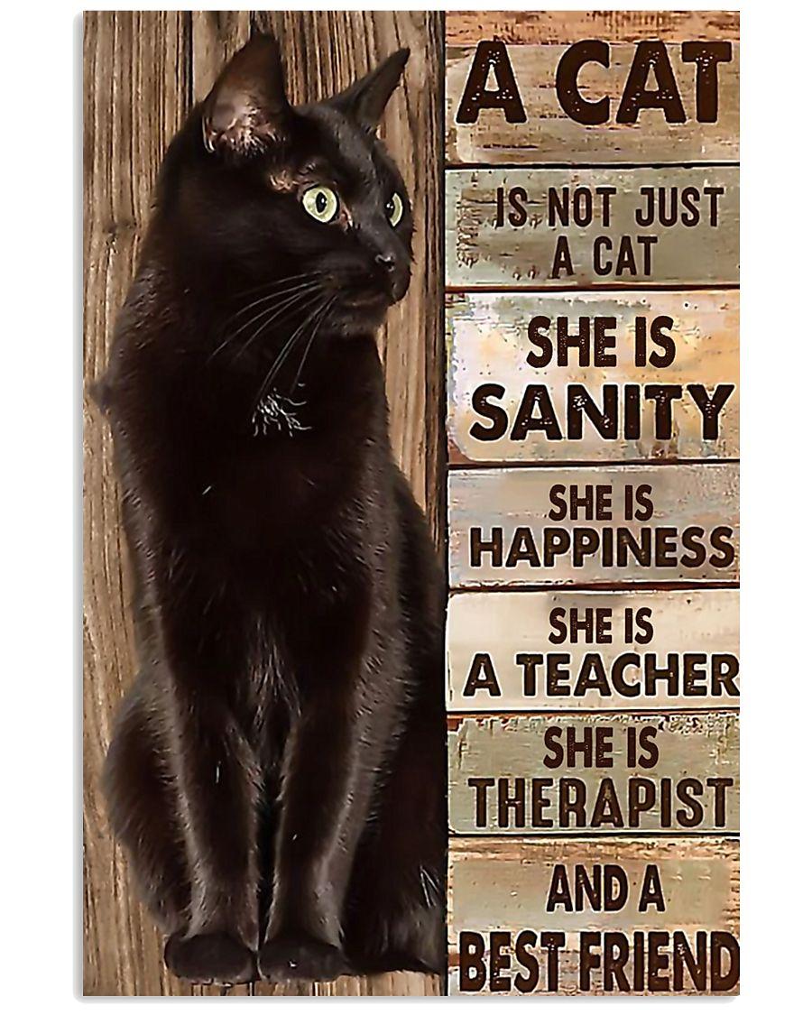 Cat best friend2 11x17 Poster