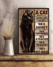 Cat best friend2 11x17 Poster lifestyle-poster-3