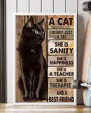 Cat best friend2 11x17 Poster lifestyle-poster-4