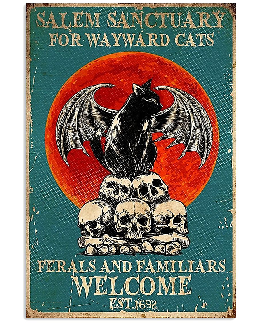 Cat welcome 11x17 Poster
