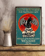 Cat welcome 11x17 Poster lifestyle-poster-3