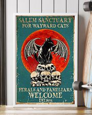 Cat welcome 11x17 Poster lifestyle-poster-4