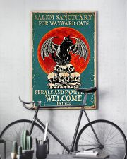 Cat welcome 11x17 Poster lifestyle-poster-7
